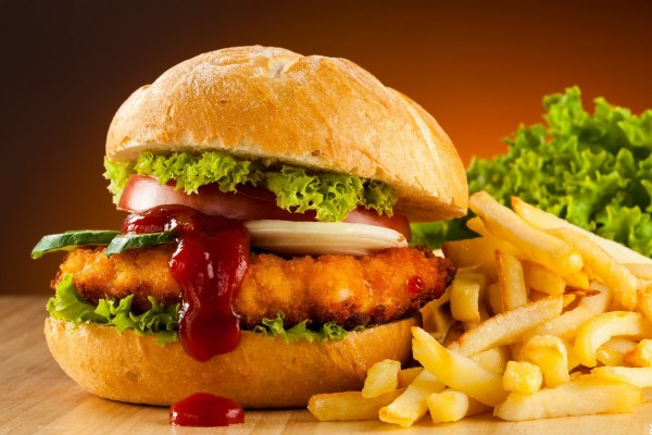 Чикен бургер