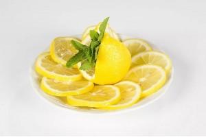 Лимон нарезка